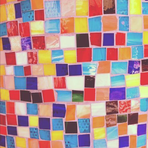 Colorful tiles. Taken June 21, 2012 at El Vez in Philadelphia Comments