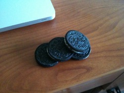 Bye bye Canadian Oreos.  I will get some more of you sometime soon.