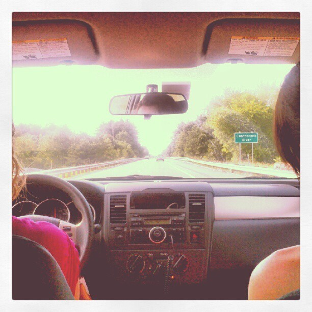 Road trippin  (Taken with Instagram)