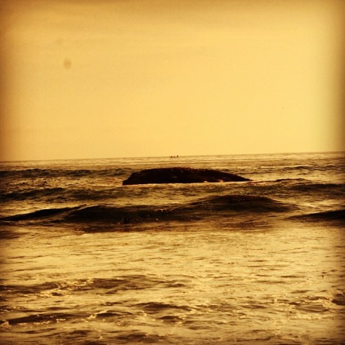 Platform on the ocean (Taken with Instagram)