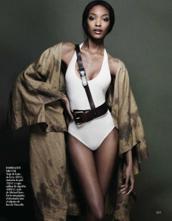 stylishmorning:  Jourdan Dunn by Quentin de Briey for Vogue Spain June 2012