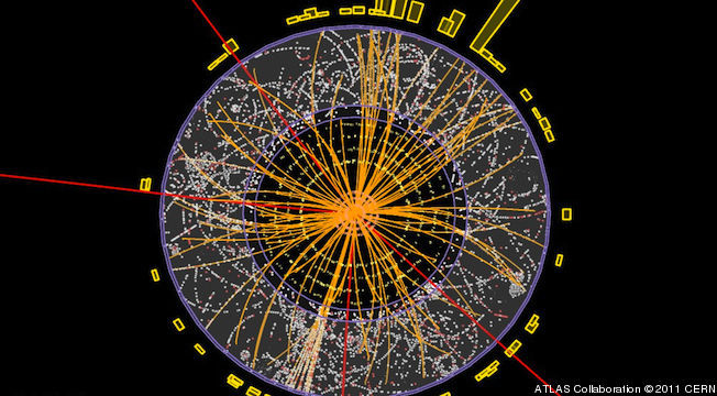 "'God Particle' Discovery Could Be Announced July 4  The discovery of a long sought-after particle known as the Higgs boson — which has been nicknamed ""the God Particle"" because physicists theorize it is the missing piece to understanding how all matter in the universe has mass — could be announced Wednesday, July 4. The European Organization for Nuclear Research (CERN), the international scientific agency in charge of the world's largest and most powerful particle accelerator, the Large Hadron Collider, on Friday sent out a press release confirming it would reveal the results of its latest high-energy proton beam collision experiments at a conference in Melbourne, Australia, taking place between July 4 and July 11."