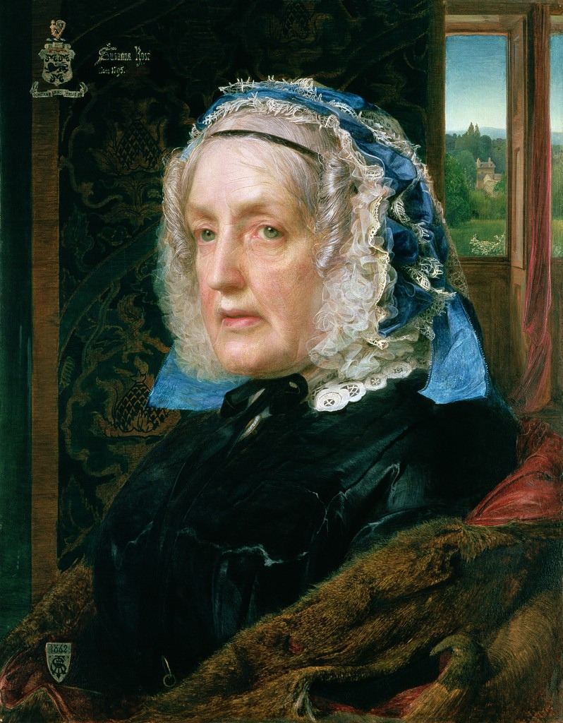 Mrs. RoseFrederick Sandys1862