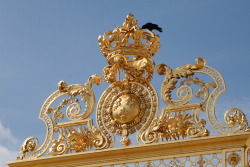 The gates at Versailles (high res looks nicer c; )