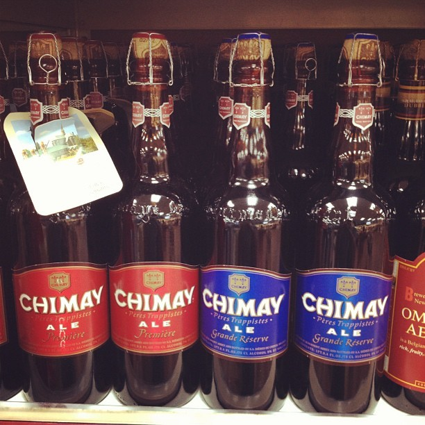 This looks like a necessary buy… #Chimay #Ale #beer (Taken with Instagram at Trader Joe's)