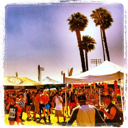 Taken with Instagram at Vans Warped Tour