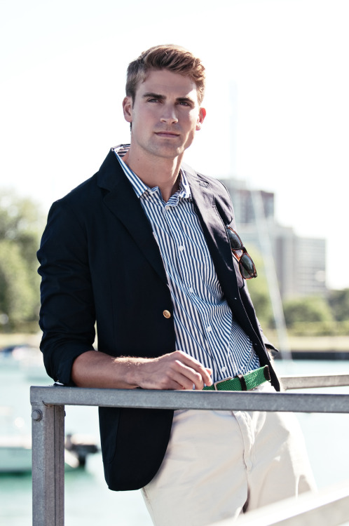 David Entinghe (Ford Chicago) Grooming and Styling by Michelle Tan Photography by Cecilia Austin