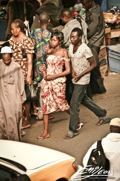 Strolling through the streets of Freetown, Sierra Leone