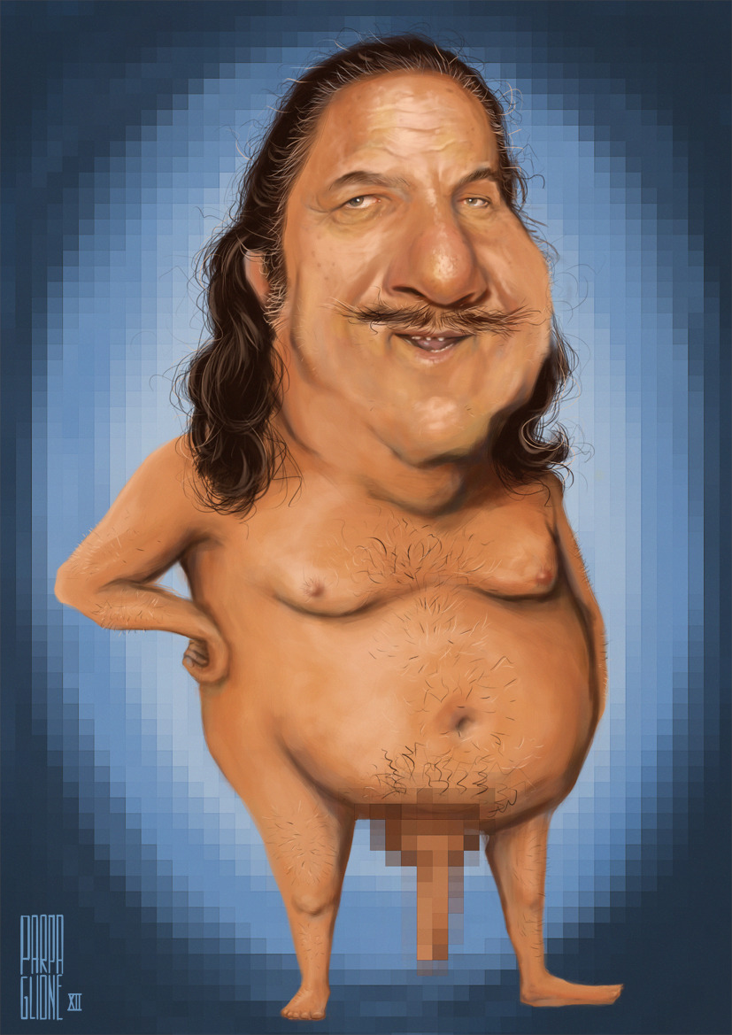 it8bit:  Ron Jeremy in Pixels Created by Diego Parpaglione