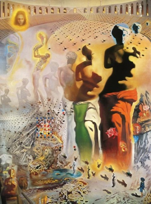 Hallucinogenic Torreador, 1969-1970; by Salvador Dali