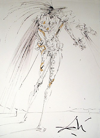 The Marquis, 1969; by Salvador Dali