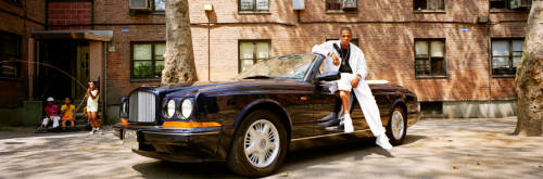aintnojigga:  Jay-Z, photographed outside the Marcy Projects in Brooklyn, by Jonathan Mannion. 1998.