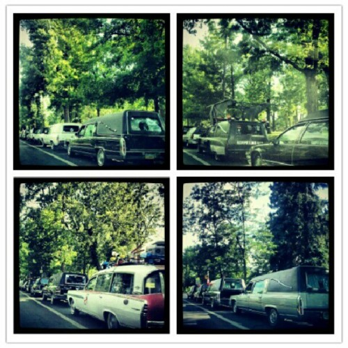 Hearse parade (Taken with Instagram)