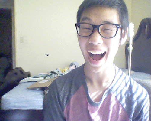 So I got these new prescribed glasses and they make me look like a huge nerd. Ohwells