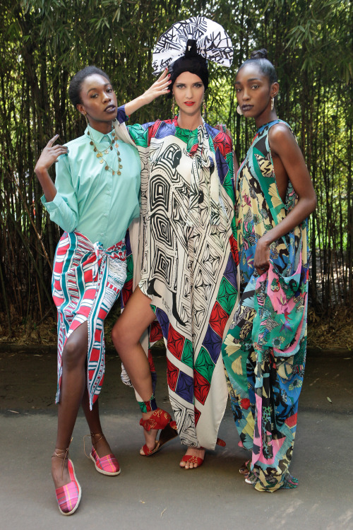 modelsofcolor:  Neon S/S 2013 SPFW  Black Girls Killing It Shop BGKI NOW