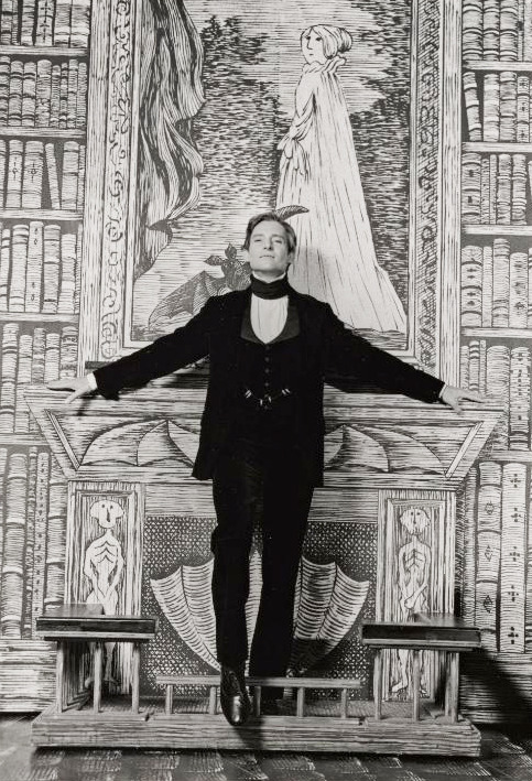 Edward Gorey set design