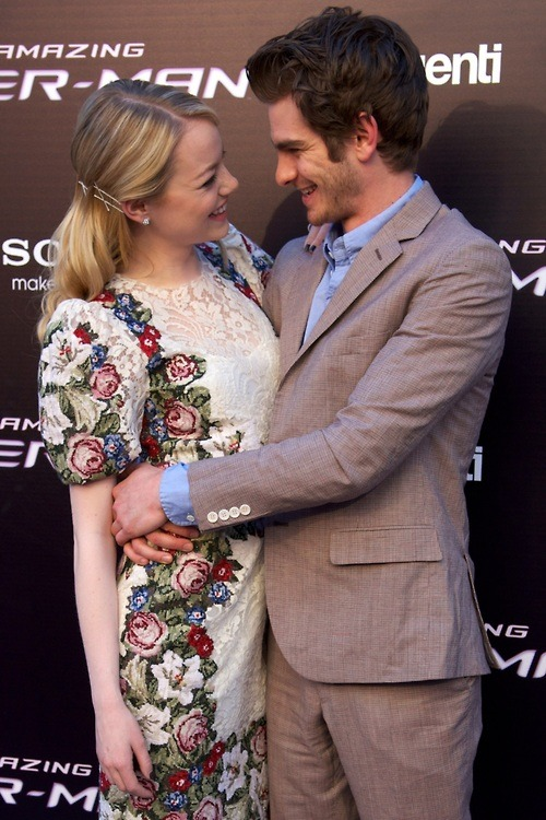 RIDICULOUSLY ADORABLEI'd give anything to be in Emma Stone's shoes.