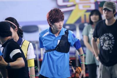 [120619] JinYoung @ Let's Go Dream Team Tumblr_m61mgkz6k21qimp49o1_400