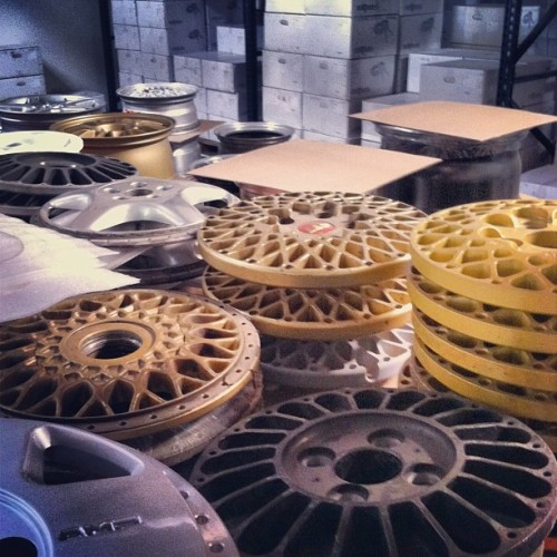 stancedesign:  Hanging out at #rotiform for the afternoon, drooling over wheels. (Taken with Instagram)