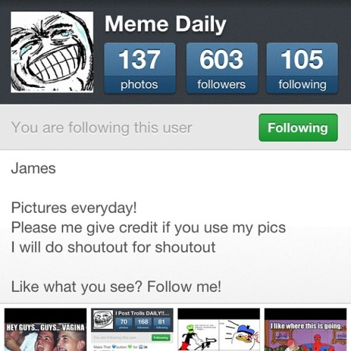 Moar #memes #meme #lol #funny #dailylol  (Taken with Instagram)