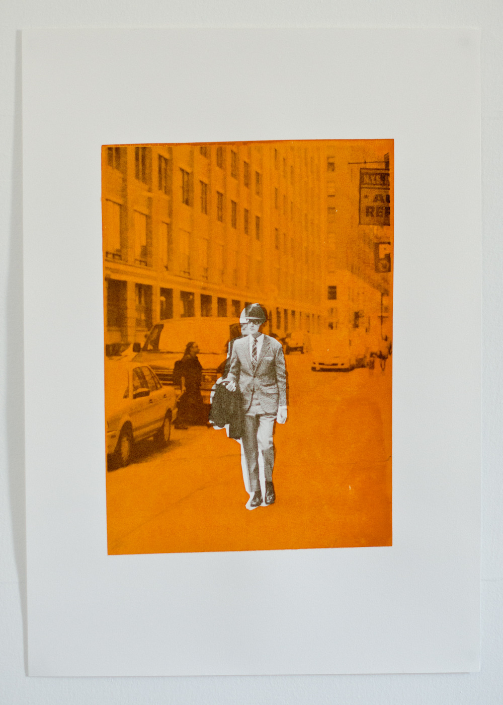 New screen print, photo from NYFW September 2011.
