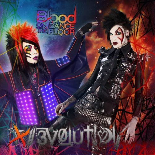 This is the album art for Blood on the Dance Floor's album Evolution.  This is real.