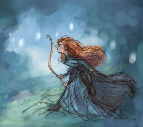 becausesometimesdreamsdocometrue:  Brave by WillowWaves.