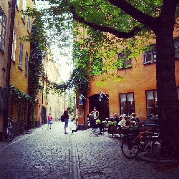 Just another day in #Stockholm. #sweden #europe #street #travel (Taken with Instagram)