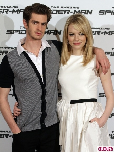 Andrew Garfield and Emma Stone win the trendy hipster celeb couple award!