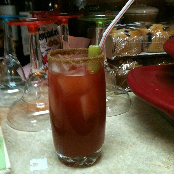 Now that's a perfect Caesar. Regular bartender over here's (Taken with Instagram)