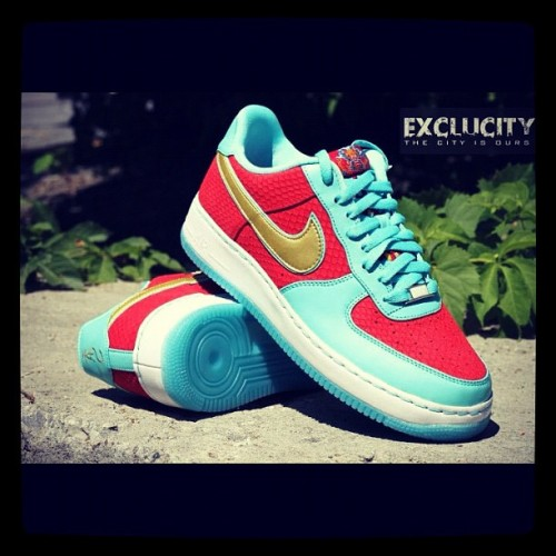 "AF1 ""Year of the Dragon"" II available at Exclucity on June 23rd #YOTD #AF1 #XXXth #NSW #Exclucity  (Taken with Instagram)"