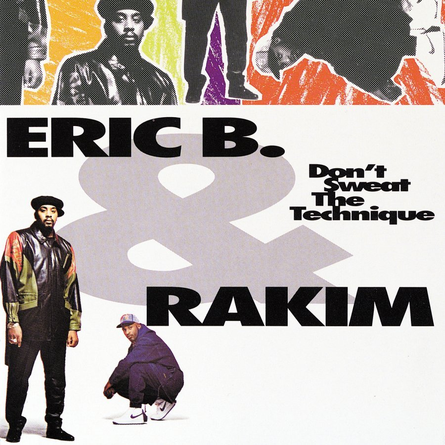 20 YEARS AGO TODAY |6/23/92| Eric B. & Rakim released their fourth album, Don't Sweat the Technique, on MCA Records.