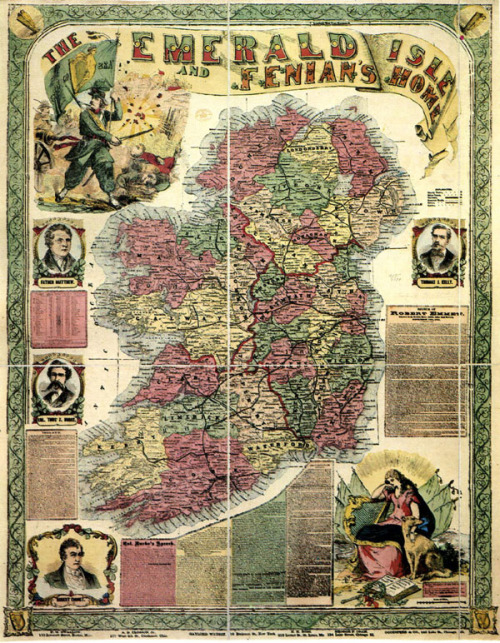 Fenian Map of Ireland