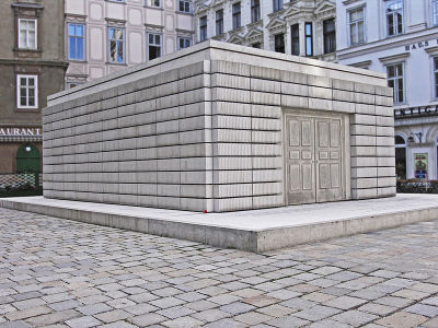 Nameless Library (Judenplatz Holocaust Memorial, Vienna)Rachel Whiteread2000