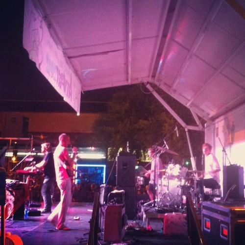 @reptarathens closing the @athfest main stage down! (Taken with Instagram)