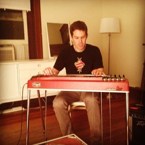 M.F. Pedal steel  (Taken with Instagram)
