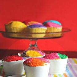 Snow Cone Cupcakes  |  Brown Sugar