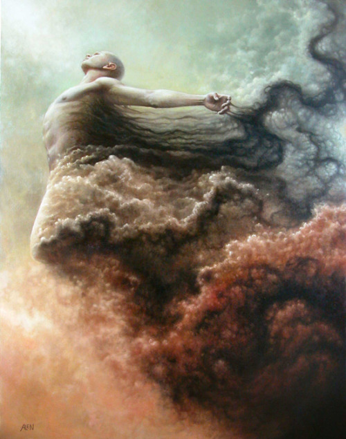 Purification by Tomasz Alen Kopera*oil on canvas*