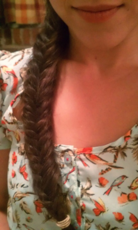 Fishtail. #hair #life #iphonography #photos