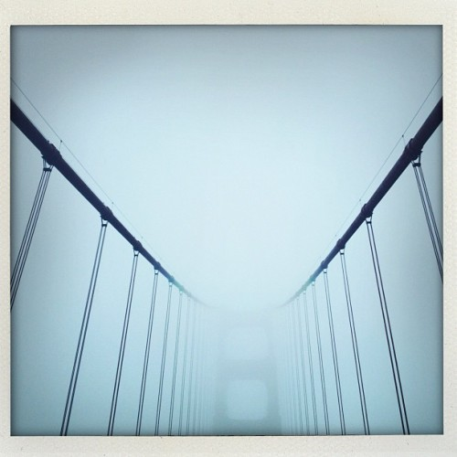 Fog (Taken with Instagram at Golden Gate Bridge)