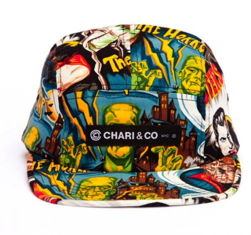 benjaminjtaylor:  CHARI & CO - HORROR 5 PANEL CAP. YES!