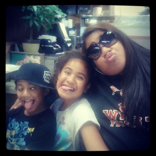 Funny Face :P With Ane && Bobo  (Taken with Instagram at El Rancherito)