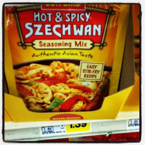"Isn't it ""Szechuan""? (Taken with Instagram)"