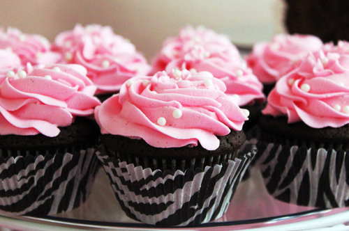 iweheartit:  Cute,Fashion,Muffin,Pink,Zebra,