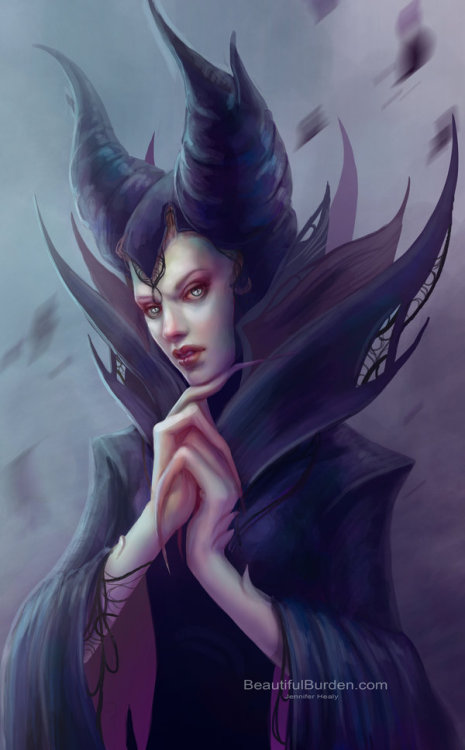 all-about-villains:  Maleficant - by Jennifer Healy