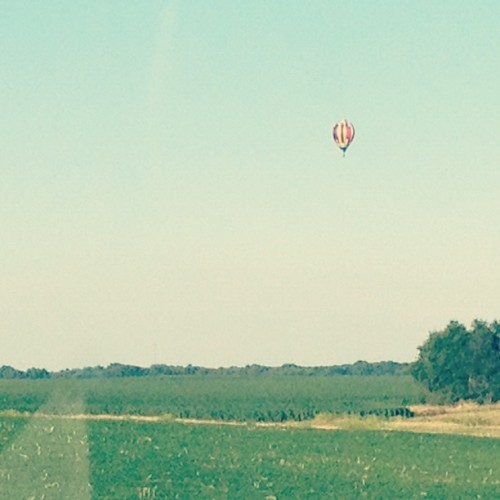 Hot Air Balloon :-) (Taken with Instagram)