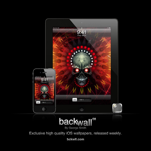 Backwall 08 Retina: iPhone 4S / iPad 3 Standard: iPhone 3GS / iPad 1 & 2 Download all.