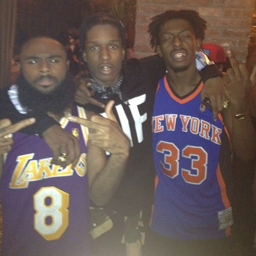 asvpxlife:  Flatbush Zombies A$VP Mxbbin (Taken with Instagram)
