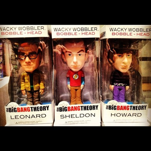 #Bobblehead #TBBT #TheBigBangTheory #Geek #Nerd #Leonard #Sheldon #Howard  (Taken with Instagram)