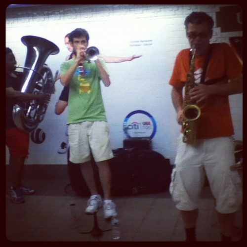 underground horns. so awesome. (Taken with Instagram)